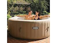 New Intex Pure Spa 6 person Hottub
