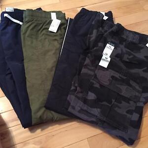 4 NWT Children's Place Boys Pants, Size XL 14