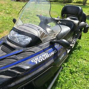 Two 2002 Bombardier Grand Touring Snowmobiles