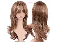 Ladies long wavy wig