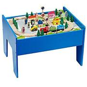 Train Wooden Set Table