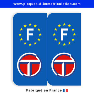 sticker plaque talbot f jeu de 2 stickers ebay. Black Bedroom Furniture Sets. Home Design Ideas