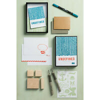 NEW STAMPIN UP UNDEFINED STAMP CARVING KIT