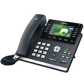 Yealink T46S VoIP/SIP Phone (SIP-T46S),16-Lines,2 x Gigabit Ports,POE
