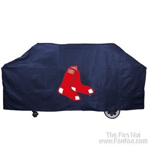 Boston Red Sox Grill Cover Barbecue Team Logo MLB Baseball