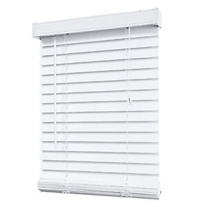 """2"""" Faux wood Blind white"""