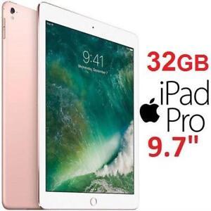"""REFURB APPLE IPAD PRO 9.7"""" 32GB - 131512234 - ROSE GOLD WIFI TABLET"""