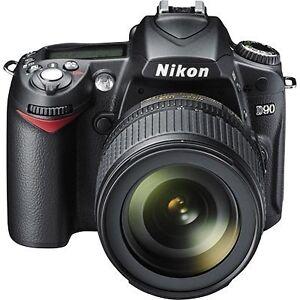 Nikon D90 camera bodies