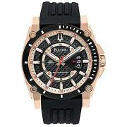 Mens Bulova Gold Watches