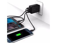 Tronsmart TS-WC3PC 3 Ports Quick Charge 2.0 VoltIQ Wall Charger for Samsung Galaxy S6 LG G4