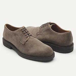 Frank and Oak Lace-Up Italian Suede Shoes (Size 13)