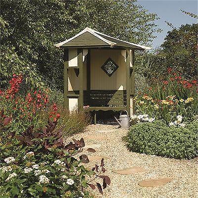 Corner Arbour Garden Amp Patio Ebay