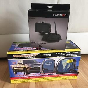 CAMPERS PACKAGE! Back up assistance camera and side mirrors