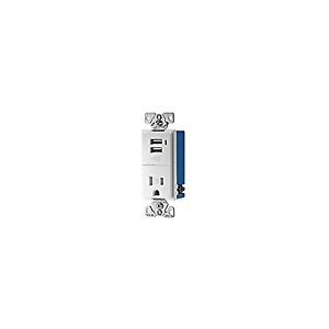 Pleasant Cooper Wiring Devices Tr7740W K Combination Usb Charger With Tamper Resistant Wiring 101 Tzicihahutechinfo