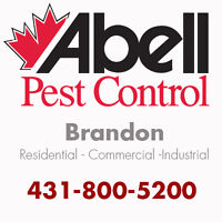Guaranteed Pest Control Services for Brandon/431-800-5200