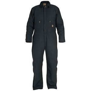 Berne Deluxe Insulated Coverall - Short, Large,  New