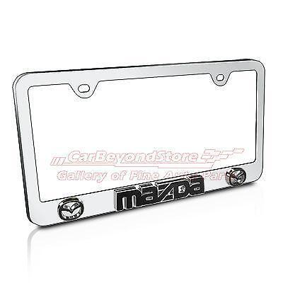 mazda license plate frame ebay