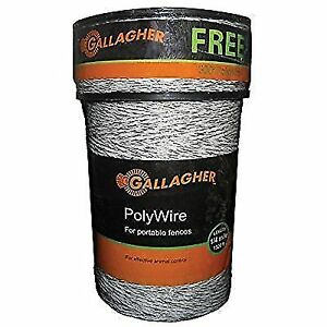 1000 meters of polywire for electric fencing