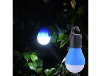 LED Camping Tent Light Bulb Outdoor Portable Hanging Fishing Lantern Lamp