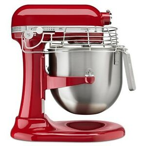 KitchenAid Mixer Red Commercial Series 8-Qt Bowl Lift  Brand NEW