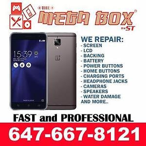 [QUALITY PHONE REPAIR] ONE PLUS 1/2/3/5/X, ZENFONE 2/2LASER/3/3LASER SCREEN REPAIR