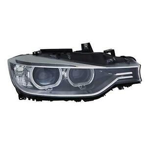 2012-2015 BMW 3-Series Headlight Passenger Side Xenon Without Adaptive Lights High Quality