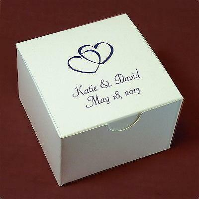 Personalized Wedding Favor Boxes EBay