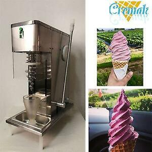 YOGURT     Swirl freeze fruit ice cream blending machine with 3pcs cones - Brand new - FREE SHIPPING