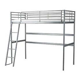 NEXT High Sleeper single bed and desk that fits underneath.