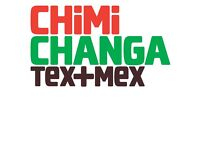 Chef & Second Chef Positions - CHiMiCHANGA, Telford!