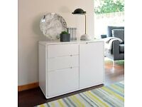 dwell compact sideboard white,