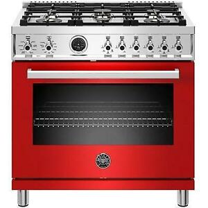 36-inch Freestanding Dual-Fuel Range with Convection