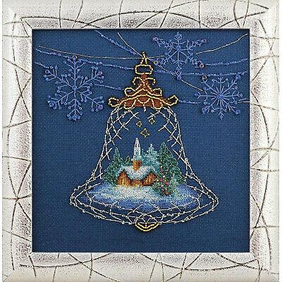 Embroidery Cross & Beadwork Stitch Kit Charivna Mit - Christmas Light - NEW