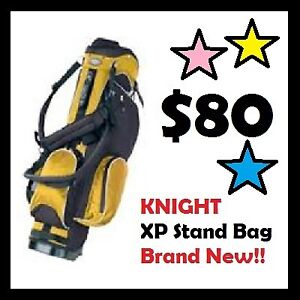 KNIGHT XP Stand Bag for GOLF --- BRAND NEW --- $80 ONLY !!