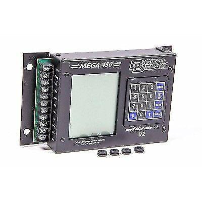 BIONDO RACING PRODUCTS MEGA450-BR Mega 450 Delay Box Black w/ Red Backlight