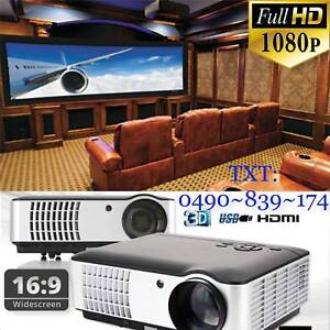 3500Lumens Movie Projector Video Led Projector 1080P Home Theatre Chadstone Monash Area Preview