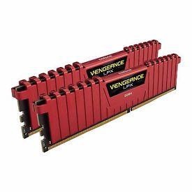 Corsair 32GB DDR4 2400 Red Vengeance 2x16GB