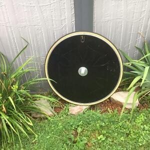 roue carbonne pleine disque