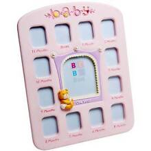 Bebe Bon - Playtime 12 Month Photo Frame Pink Menai Sutherland Area Preview