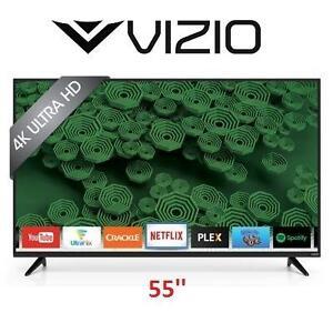 NEW OB VIZIO 55'' 4K SMART LED TV - 115057832 - D55U-D1