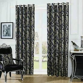 luxurious eyelet curtains