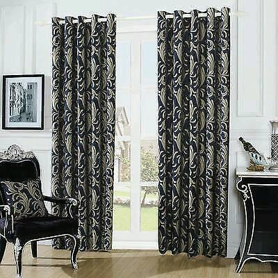 luxurious eyelet curtains