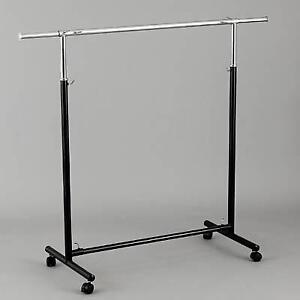 clothing rack, garment rack, rolling rack, clothes rack, rack, clothes hanger, light duty clothes rack