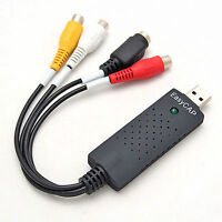 USB 2.0 Video Audio VHS to DVD Converter Capture Card Adapter