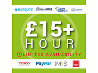Earn £15 - £50 Hour In Your Spare Time - Immediate Start, No Experience & Cash In Hand