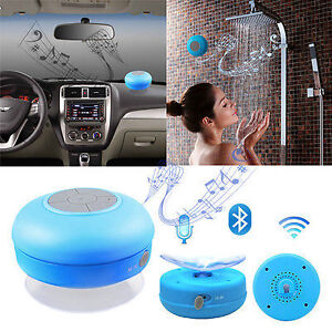 HAUT PARLEUR DOUCHE BLUETOOTH WATERPROOF SPEAKER SHOWER