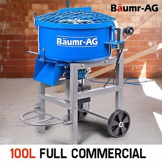 100L Mortar Screed Pan Mixer - 1500W Electric Concrete - Cement Seven Hills Blacktown Area Preview
