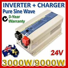 INVERTER 3000 to 9000 WATT Pure Sine Wave Best Quality TORTECH Hamilton Brisbane North East Preview