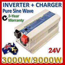 INVERTER 3000 to 9000 WATT Pure Sine Wave Best Quality TORTECH Hamilton Brisbane North East Preview