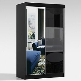 "✨✨""Elegant New High Gloss Manhattan Sliding Door Wardrobe - Better Price Best Quality ""✨✨"